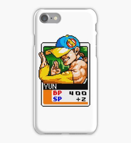 Yun - Street Fighter iPhone Case/Skin
