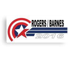 Rogers/Barnes 2016 Campaign Parody Canvas Print