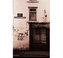 Irish Street Photographic Print