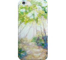 Promise Of Spring - A Woodland Path iPhone Case/Skin