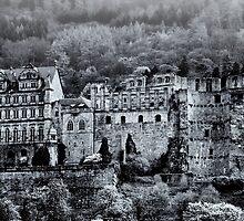 Heidelberg Castle by Sue Clamp