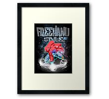 freehand style Framed Print