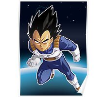 Vegeta Dragon Ball Z Poster