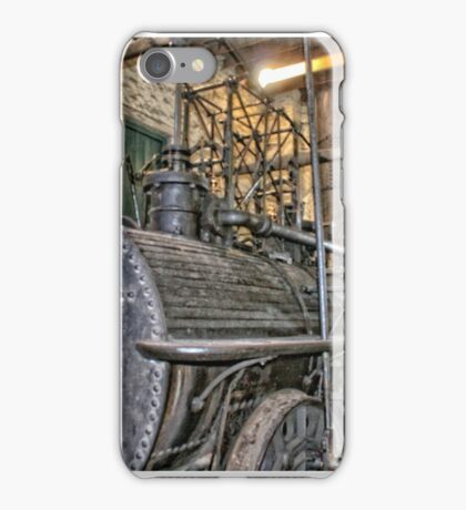 Steam Trains at Beamish Village iPhone Case/Skin