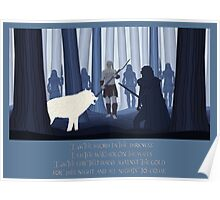 Beyond the Wall - Paper Cut outs Poster