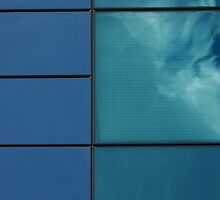 Cloud in a window by Erika Gouws
