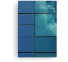 Cloud in a window Canvas Print
