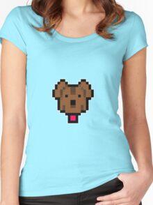 Lucas' dog shirt. Women's Fitted Scoop T-Shirt