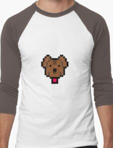 Lucas' dog shirt. Men's Baseball ¾ T-Shirt