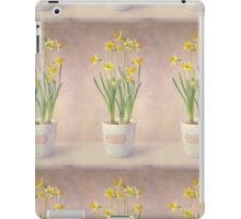 Narcissus Tete-a-tete iPad Case/Skin