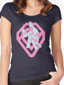 Crazy D - Diamond is Unbreakable Women's Fitted Scoop T-Shirt