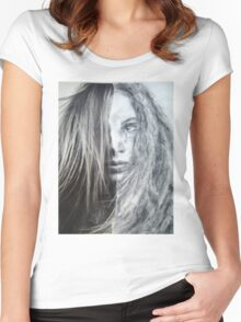 Torn Women's Fitted Scoop T-Shirt