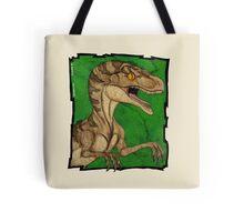 Hollywood style  vintage velociraptor Tote Bag