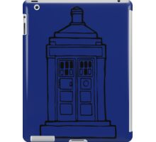 The Tardis Illustration - Doctor Who, The Doctor, BBC iPad Case/Skin