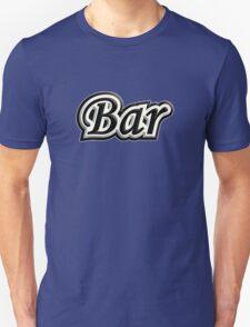 Bar B&W T-Shirt