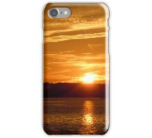 Sunset over Hilton Head iPhone Case/Skin
