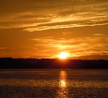 Sunset over Hilton Head by BrittanyONeal