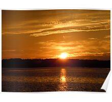 Sunset over Hilton Head Poster