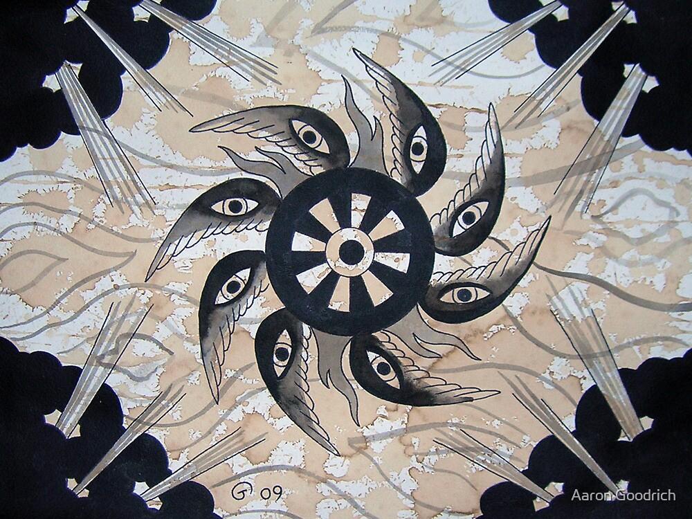 Dharma Wheel by Aaron Goodrich