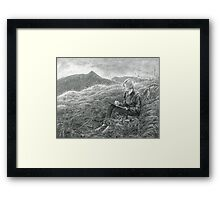 Kate and Catstye Cam Framed Print