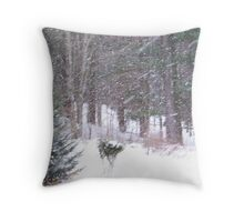 Another Blustery Day Throw Pillow