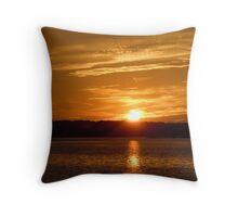 Sunset over Hilton Head Throw Pillow