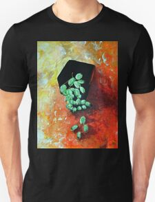 Black Vase with Grapes T-Shirt