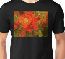 orange flora Unisex T-Shirt