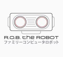R.O.B. The Robot - Retro Minimalist - White Clean by garudoh