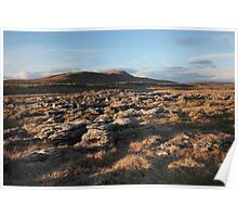 Scales Moor From Twistleton Poster