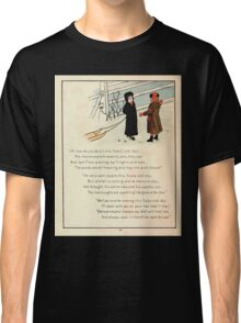 The Glad Year Round for Boys and Girls by Almira George Plympton and Kate Greenaway 1882 0052 Freezing Wind Blows Classic T-Shirt