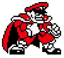 M. Bison (sprite) by Lupianwolf
