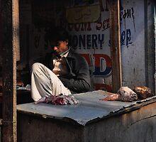 Kathmandu Butcher by Brendan Buckley