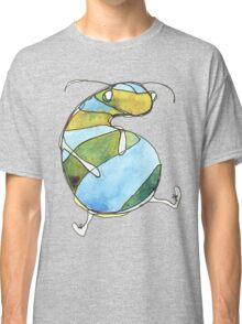 Stripey Grub Classic T-Shirt
