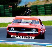 Bob Jane Camaro at Phillip Island by Stuart Row
