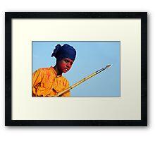 The Warrior-III Framed Print