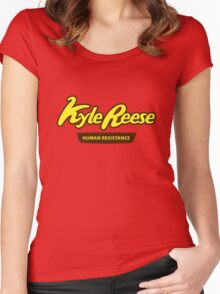Kyle Reese Women's Fitted Scoop T-Shirt