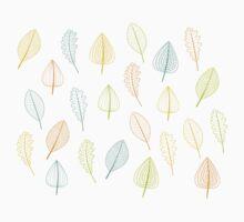 color leaf Baby Tee