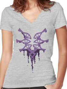 The Mark of Grima Women's Fitted V-Neck T-Shirt