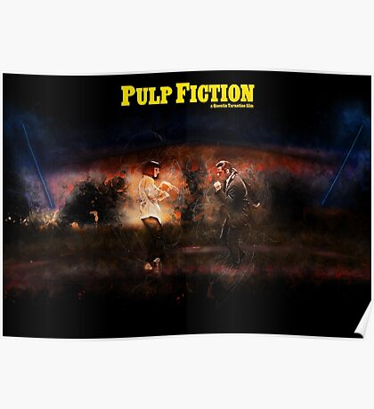 Pulp Fiction - Alternative Movie Poster Poster