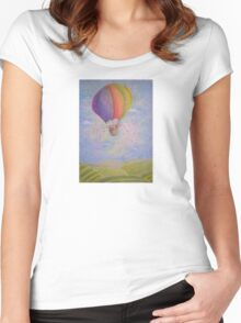 Balloon's Bears Women's Fitted Scoop T-Shirt