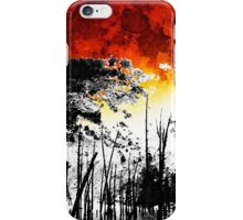 The Red Moon - Landscape Art By Sharon Cummings iPhone Case/Skin