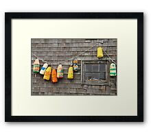 Hung Out to Dry in Nova Scotia Framed Print