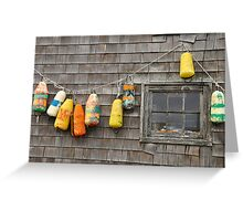 Hung Out to Dry in Nova Scotia Greeting Card