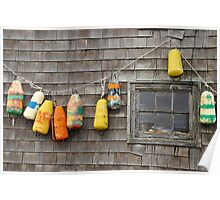 Hung Out to Dry in Nova Scotia Poster
