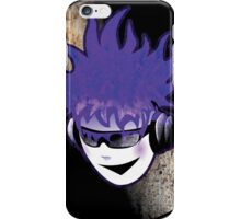 Punk Rock Vinyl Record -  MUSIC! iPhone Case/Skin