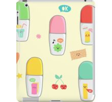 Markers Pattern iPad Case/Skin