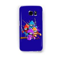 Teenage splatter ninja squids. Samsung Galaxy Case/Skin