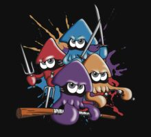 Teenage splatter ninja squids. One Piece - Long Sleeve