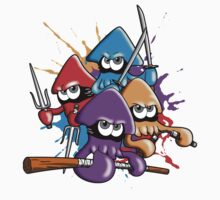 Teenage splatter ninja squids. Baby Tee